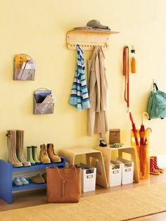 bentwood hanger, acrylic umbrella stand