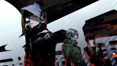 Kaneki, Yomo and Nishiki || Tokyo Ghoul
