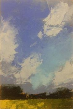 """Sky, Pasture"" - Original Fine Art for Sale - © Mary Gilkerson"