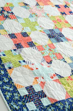 double take quilt - love the colors!!