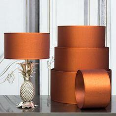 Copper Solaris Shades - View All Lighting - Lighting