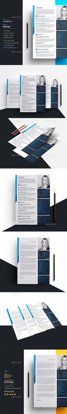 Resume Template PSD. Download here: http://graphicriver.net/item/resume/15619073?ref=ksioks