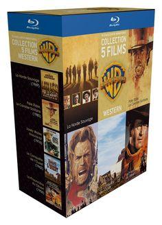 90 ans Warner - Coffret 5 films - Western + 1 magnet c - BLU-RAY NEUF - SERIE TV