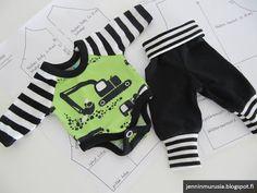 Murusia: Pienelle vauvalle ja nukelle vaatteita (sis. kaava...
