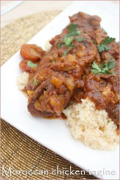 This easy Moroccan chicken tagine recipe strikes the perfect balance between fruitiness and spice and will fragrance you whole home with its exotic aroma.