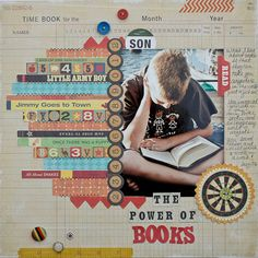 The Power of Books-1 - love this - consider using  copies of scout badge books