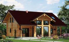 تصميم منزل خشبي في منطقة رانش