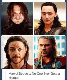 No one gets a haircut