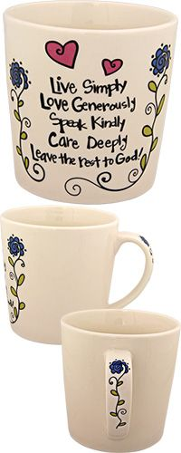 Leave the Rest to God Grande Mug at The Animal Rescue Site
