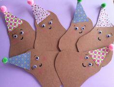 Small Potatoes Birthday Invitations!