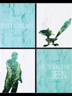 Nobody knows...the trouble I've seen - Zazu/Phil Coulson
