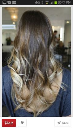 My new hair colour soon! :)