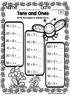 First Grade Understanding Place Value 1.NBT.2