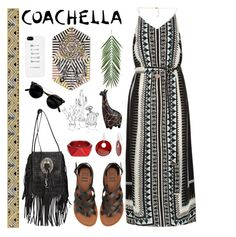 """""""Date in Coachella"""" by mockingjayafire ❤ liked on Polyvore featuring River Island, Billabong, Yves Saint Laurent, Michael Kors, Mixit, McQ by Alexander McQueen and Kate Spade"""