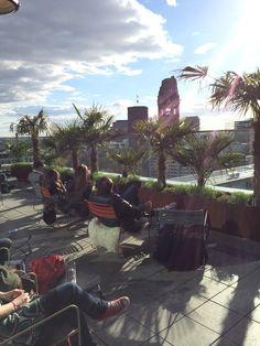 Entspannen und die Aussicht genießen in Berlin Charlottenburg >> Monkey Bar I Budapester Straße 40 I 10787 Berlin