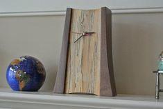 Mantle clock - walnut sycamore: