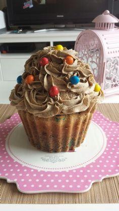 Cupcake géant m&m's