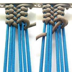 Base: 6 cords Weave: 1 cord Material consumption: 310 cm on 19 cm length