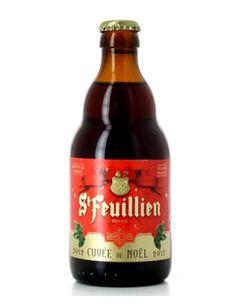 St Feuillien de Noël, 9% 7/10 dark red beer