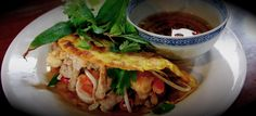 Banh Xeo. maybe i'll make this for you! or we could go out and eat it lol