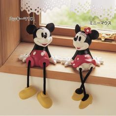 Minnie & Mickey Window Shelf Decor - Japan