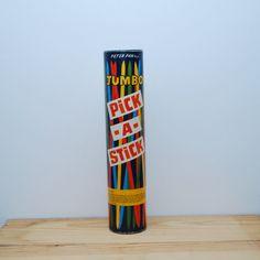 Vintage Pick a Stick game by LostPropertyVintage on Etsy