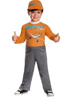 Toddler Boys Dusty Crophopper Costume - Disney Planes - Party City