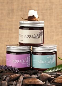 #Organic Balm Bundle #Cosmetics #Packaging