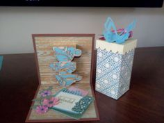 Mother's Day Card and Gift Box by Flora