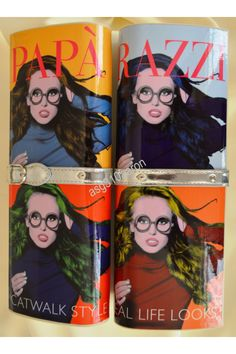 Magazine Cover Clutch bag! Retro Andy Worhol and Pop Art inspired bag!