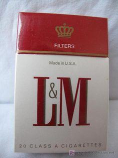 LM paquete de tabaco u.s.a años 60