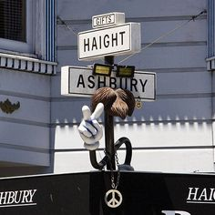 Drive in San Francisco: Haight-Ashbury San Francisco California, California Dreamin', San Francisco Neighborhoods, Haight Ashbury, Historical Landmarks, Smoke Shops, Wanderlust, Big Sur, Summer Of Love