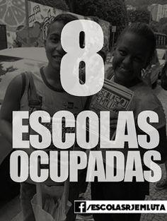 Escritor - Professor: ESCOLAS OCUPADAS
