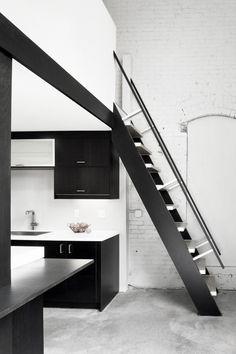 bw kitchen...