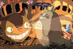 My Neighbour Totoro (1988) - More-8-bit-Ghibli