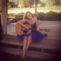 Savannah shooting a quick pic on Lake Benson Park in Garner NC for promotional