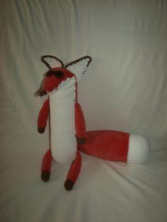 Fox The Little Prince Crochet Pattern in English by 4Crochet41