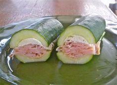 pizza-party:    iheartchaos:    Things that just might change your life: Cucumber sandwiches  Ditch the bread, this is how I'm making all my sub sandwiches from now on.  Via    Into it.    Whoa. It's like that time I discovered cupcake sandwiches, but healthier.