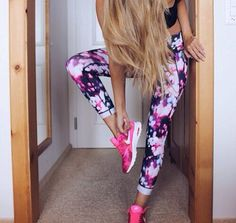 Pinterest @esib123  workout clothes + fitness + fitspo + athletic  Nike