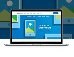 Branding and Responsive Website for Storage Service NeoDrive