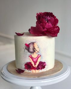 """We have collection of stunningly beautiful cake decorating to help inspire your baking passions and delight to the guest of honor. Take a look at the gallery board """"Cake Designs"""" Beautiful Birthday Cakes, Beautiful Cakes, Amazing Cakes, Stunningly Beautiful, Ballet Cakes, Ballerina Cakes, Cute Cakes, Pretty Cakes, Bolo Fack"""