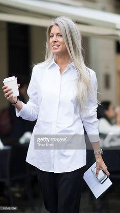 Sarah Harris seen during Milan Fashion Week Spring/Summer 2017 on September 24, 2016 in Milan, Italy.