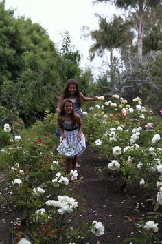 Our girls frolic in our Santa Barbara garden. The story on our home and garden begins here: http://www.designsbyalina.com/designsbyalinablog/2014/8/19/our-santa-barbara-home-in-the-press?rq=dolce%20vita