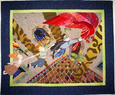 Harry Potter Quilt.... + many beautiful fairy tale quilts