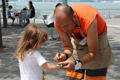 CMA joined Hudson River Park on Pier 84 for their Science on the River Festival! Visitors worked on an eco-art installation project and collaborated on a big animation project with our Media Lab Teaching Artists.