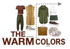 """The Warm Colors"" by santiwh on Polyvore"
