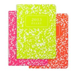 2013 Composition Notebook, Italian Neon | Graphic Image