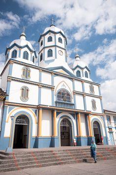 Cathédrale de Filandia près de Salento en Colombie. A découvrir lors de votre voyage.