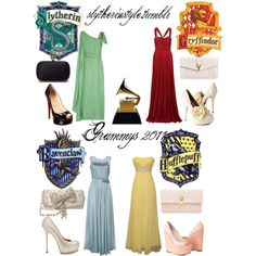 Grammys, created by slytherinstyle on Polyvore