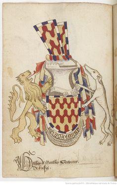 Statuts de l'Ordre du Croissant, fondé par René d'Anjou (1448).